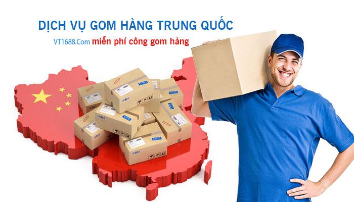 Dịch vụ gom hàng Trung Quốc miễn phí