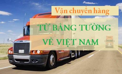 vận chuyển từ Bằng Tường về Việt Nam
